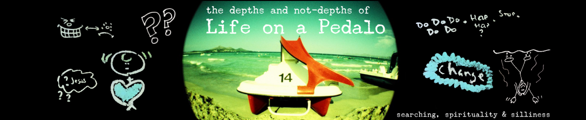 Life on a Pedalo (the depths and not-depths of)